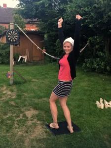 I'm excellent at darts.
