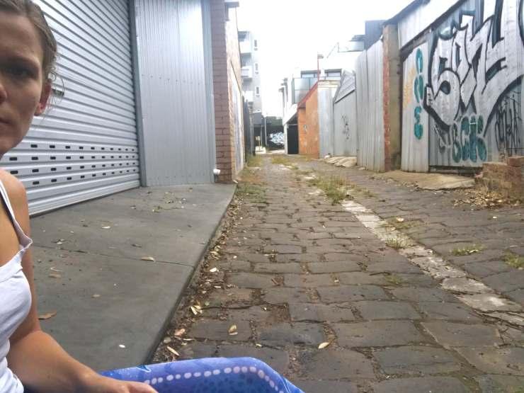 One less famous Melbourne laneway